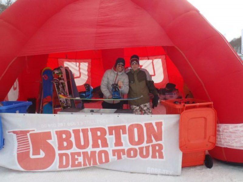BURTON DEMO TOUR – Roccaraso 2011