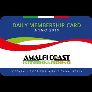 Daily Membership Card